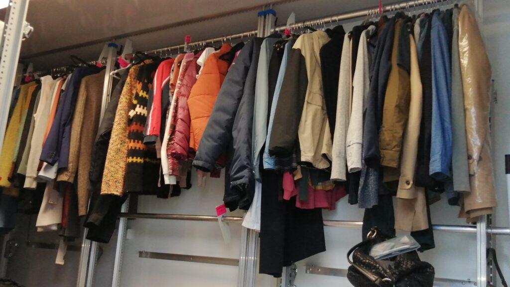 Filmproduktion garderobe