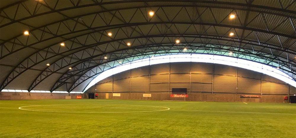 Fodboldbane Harboehallen Næstved