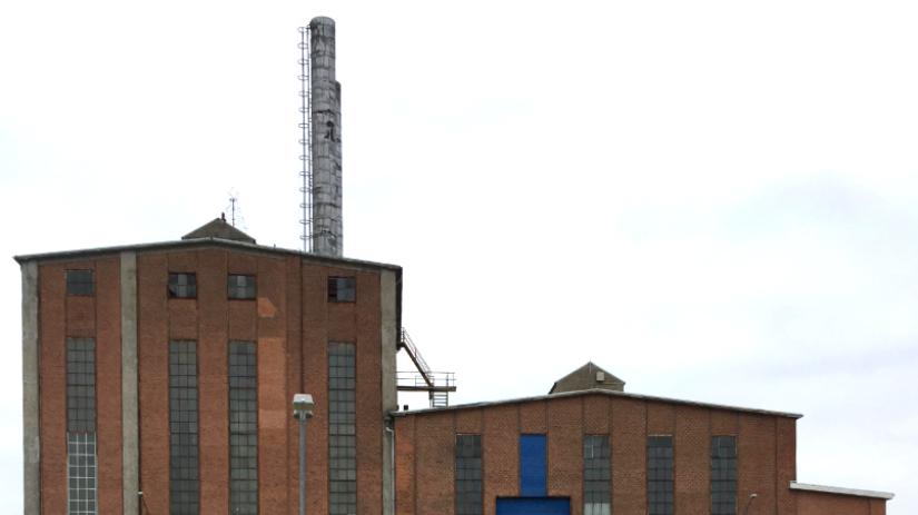 Skorsten kraftcentralen maglemølle