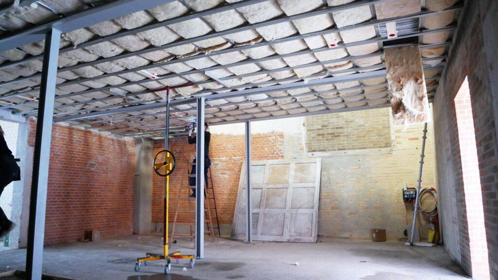 Padel Tennsi hal under renovering juli 2021 - 6