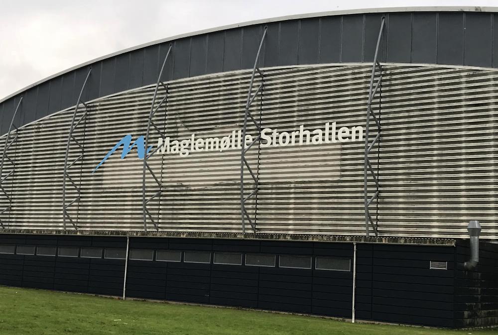 Maglemølle Storhal på Nygårdsvej i Næstved
