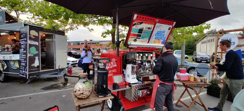 Streetfood på Maglemølle A/S Næstved kaffe